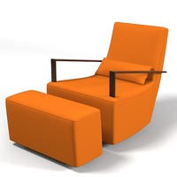 ligne roset neo rocking chair  alban sebastien