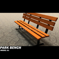 park bench 01