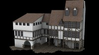 free max model medieval house