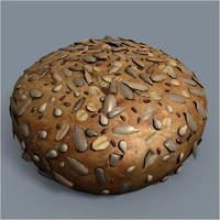 seeds pogaca 3d model