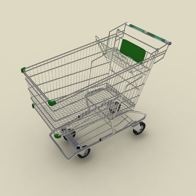 shopping cart spline mental ray.jpg