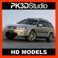 3d subaru - custom model