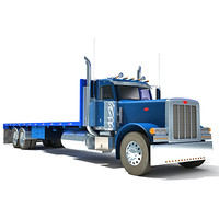 American Truck Flatbed 17