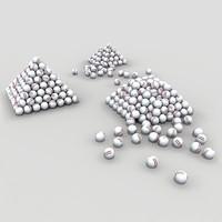 Range Ball Pyramids