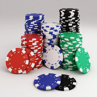 Poker Chips Stack