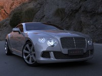 3ds max bentley continental gt