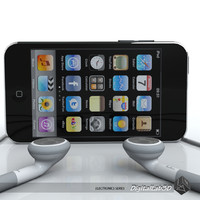Ipod Touch 3rd gen with Earphones
