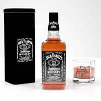 jack daniels whiskey bottle max