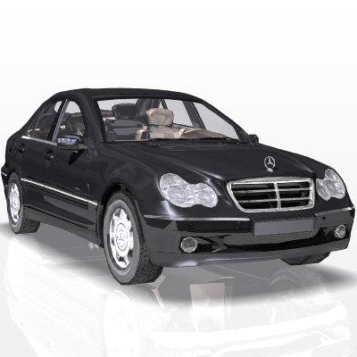 Mercedes C-Class 3D
