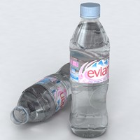 WATER BOTTLE - EVIAN