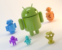 3d model robots android