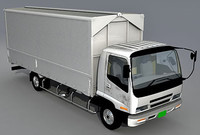 Isuzu Forward 3d model