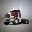 Mack Titan 3D models
