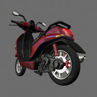 3ds max scooter