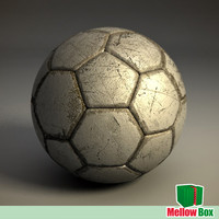 Old football ball