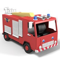 truck car toy fire engine kid children vehicle