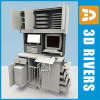 3d model dental delivery console