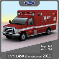 Ford E-450 Ambulance v2
