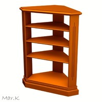 maya corner cabinet
