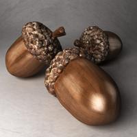3dsmax oak nut