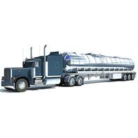 tanker truck 3d max