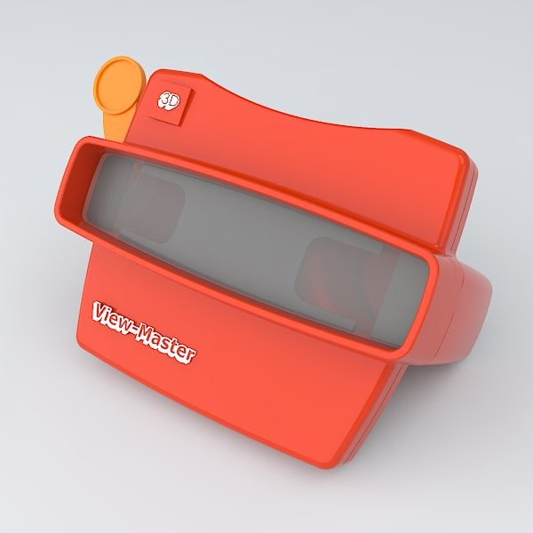 View master 3d model for 3d model viewer