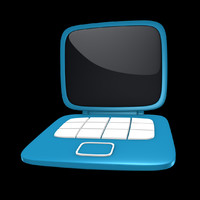 cinema4d toon laptop