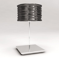 artemide aqua cil floor lamp 3d model