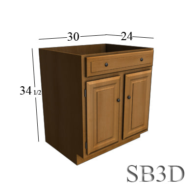 30 inch sink base max for 30 inch kitchen cabinets