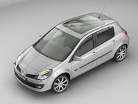 3ds max renault clio iii