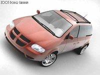 3dsmax dodge caravan 2003