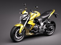 3d model honda cb1000r sport
