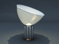 flos taccia light lamp 3d max