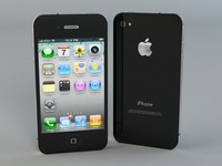 3d max apple iphone 4