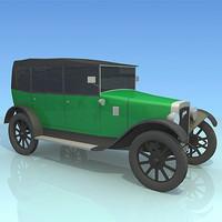3d austin 1929