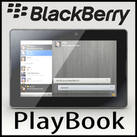 3d model blackberry playbook