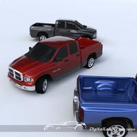 3d 3ds dodge ram truck