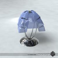 3d lamp shade model