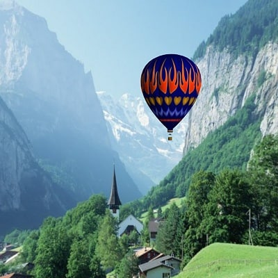 hot air balloon bl obj - BL Flame... by Kringle