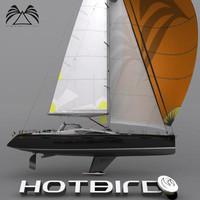 3dsmax sail boat