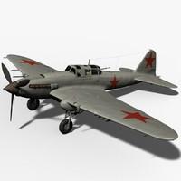 ilyushin il-2 shturmovik 3d lwo