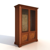 3d model classic cupboard