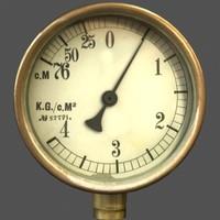 3d meter gauge model