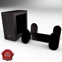 Speaker System Samsung HT-X20R V2