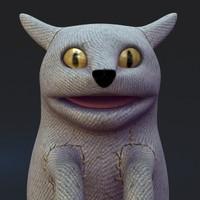 3d model cat toy