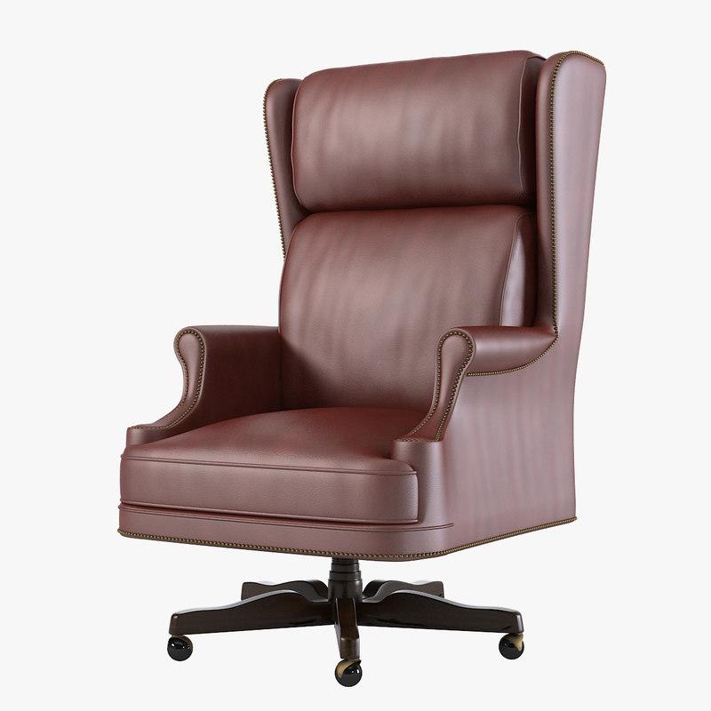 a mascheroni classic president big  high boss office wing armchair chair n0001.jpg