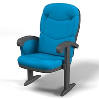 baco theatre chair 3d 3ds