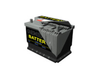 max cut open section car battery