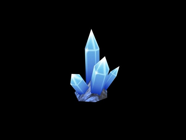 3d max fantasy crystals games swf animation - Fantasy Crystals - animated game model... by Seth2200