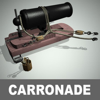 Carronade Cannon